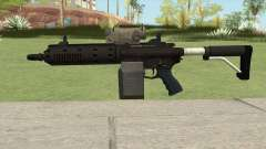 Carbine Rifle GTA V V1 (Flashlight, Tactical) for GTA San Andreas