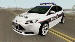 Ford Focus ST 2013 BiH Policija for GTA San Andreas
