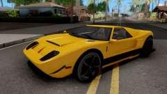 Vapid Bullet GTA 5 Yellow for GTA San Andreas