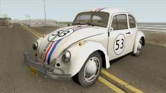Volkswagen Beetle 1968 Herbie for GTA San Andreas