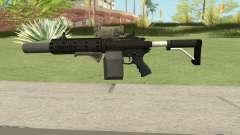 Carbine Rifle V1 (Grip, Silenced, Tactical) for GTA San Andreas