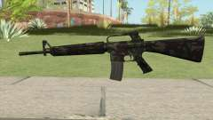 M16A2 Full Forest Camo (Stock Mag) for GTA San Andreas