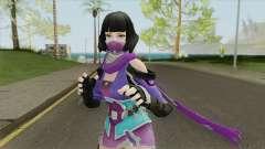 Creative Destruction NinjaGirl for GTA San Andreas
