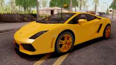 Lamborghini Gallardo LP560 Yellow for GTA San Andreas
