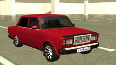 VAZ 2107 Sedan Red for GTA San Andreas