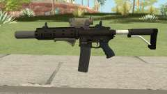 Carbine Rifle GTA V Complete Upgrades (Ext Clip) for GTA San Andreas