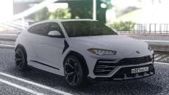 Lamborghini Urus 2019 White for GTA San Andreas