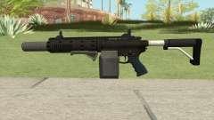 Carbine Rifle V1 (Flashlight, Grip, Silenced) for GTA San Andreas