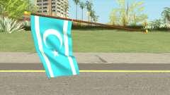 Iraqi Turkmen Flag for GTA San Andreas