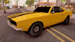 Chevrolet Camaro SS Yellow for GTA San Andreas
