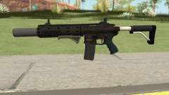 Carbine Rifle GTA V Default (Grip, Silenced) for GTA San Andreas