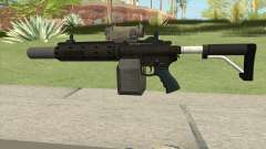 Carbine Rifle GTA V V1 (Silenced, Tactical) for GTA San Andreas
