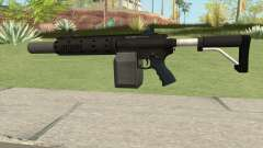 Carbine Rifle GTA V V1 (Silenced, Flashlight) for GTA San Andreas