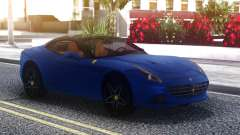 Ferrari California Blue for GTA San Andreas