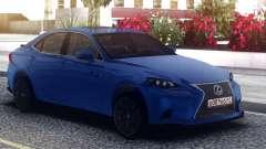 Lexus GS-F Blue Sedan for GTA San Andreas