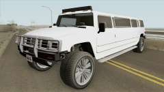 Mammoth Patriot Stretch GTA V IVF for GTA San Andreas