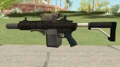 Carbine Rifle GTA V Complete Upgrades (Box Clip) for GTA San Andreas