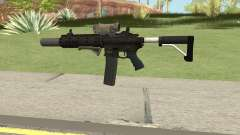 Carbine Rifle V3 (Grip, Silenced, Tactical) for GTA San Andreas
