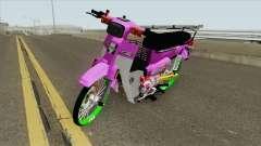 Honda C70 GBO J Alloy Godzilla for GTA San Andreas