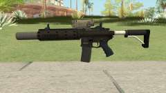 Carbine Rifle GTA V V2 (Silenced, Tactical) for GTA San Andreas