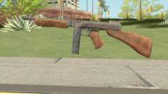 Thompson SMG (Tommy Gun) From PUBG for GTA San Andreas