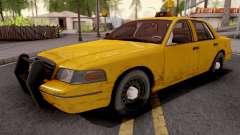 Ford Crown Victoria Taxi Sedan for GTA San Andreas