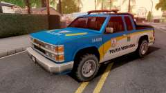 Chevrolet S-10 Policia Rodoviaria for GTA San Andreas