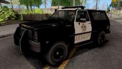 GTA IV Declasse Sheriff Rancher IVF for GTA San Andreas