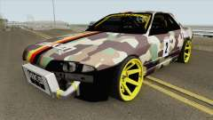 Nissan Skyline R32 Drift Falken Germany HQ for GTA San Andreas