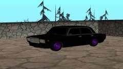 Black VAZ 2107 for GTA San Andreas