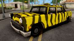 Zebra Cab GTA VC Xbox for GTA San Andreas