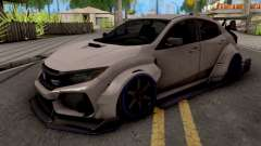 Honda Civic Type-R Grey for GTA San Andreas