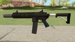 Carbine Rifle GTA V Silenced (Extended Clip) for GTA San Andreas