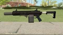 Carbine Rifle GTA V Box (Grip, Silenced) for GTA San Andreas