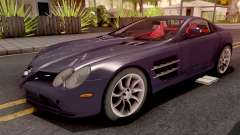 Mercedes-Benz SLR Violet for GTA San Andreas