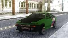 Toyota Corolla AE86 Coupe 1984 for GTA San Andreas