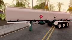 Carrotanque Trailer Colombiano for GTA San Andreas