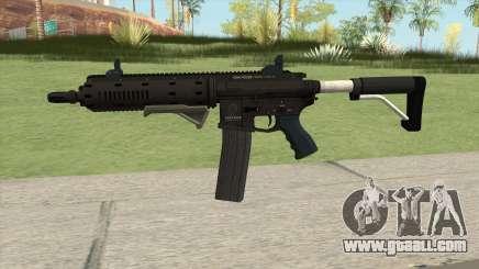 Carbine Rifle GTA V Extended (Flashlight, Grip) for GTA San Andreas
