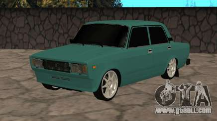 VAZ 2105 Turquoise Sedan for GTA San Andreas