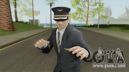 Airline Pilot for GTA San Andreas
