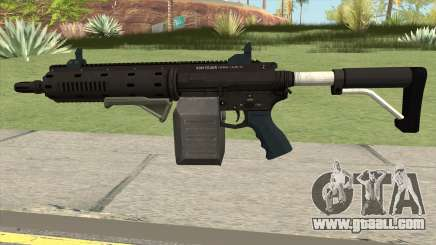 Carbine Rifle GTA V Box (Flashlight, Grip) for GTA San Andreas