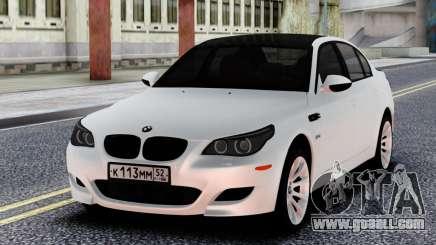 BMW M5 E60 BELA for GTA San Andreas