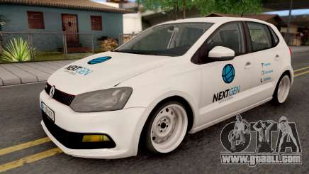 Volkswagen Polo GTI 2014 v2 for GTA San Andreas