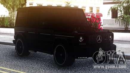 Mercedes-Benz G-Class Black for GTA San Andreas