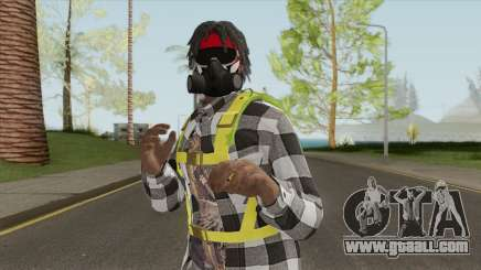 Black Guy Skin V3 for GTA San Andreas