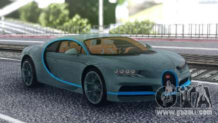 Bugatti Chiron Original for GTA San Andreas