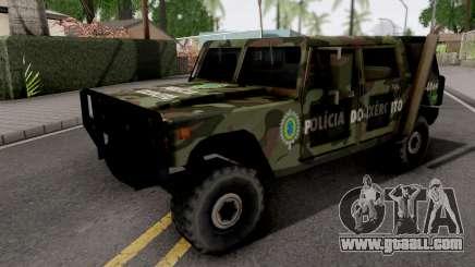 Patriot Exercito Brasileiro for GTA San Andreas