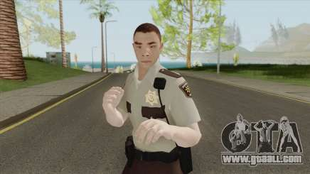 Arklay County Sheriff V1 Resident Evil 2 Remake for GTA San Andreas