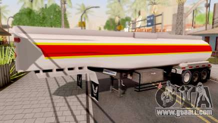 Trailer De Combustible for GTA San Andreas