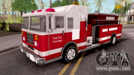 Firetruck GTA VC Xbox for GTA San Andreas